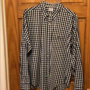 J.CREW Authentic Workwear Long Sleeve Button Down